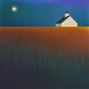 Harvest Moon - Acrylic on Canvas, 76 x 76cm, SOLD