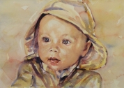 """Baby Painting"" 