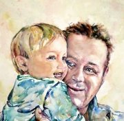 """Henri & his Dad"" 