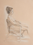 Life Drawing - Graphite and Conte