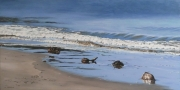 Cape Tribulation Beach Acrylic on Canvas Size: 61cm x122cm $490