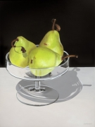 Pears in Glass Stand Acrylic on Canvas Size: 102cm x76cm $1150