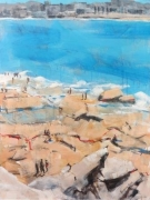 Australia Day 2015 Ben Buckler Bondi - Acrylic on Canvas 76cm x 101cm