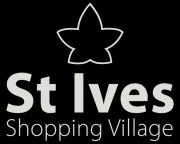 St Ives Shopping Village logo black bg