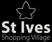 St Ives Shopping Village logo black bg