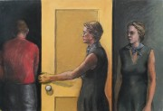 Step Two pastel on paper 76 x 110 cm